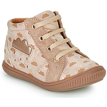 Scarpe Bambina Sneakers alte GBB MASHA Beige