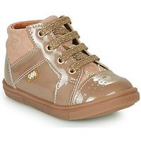 Scarpe Bambina Sneakers alte GBB THEANA Beige