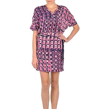 Abbigliamento Donna Abiti corti Stella Forest YRO059 Marine / Rosa