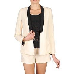 Abbigliamento Donna Giacche / Blazer Stella Forest YVE005 ECRU