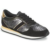 Scarpe Donna Sneakers basse Balsamik LILA Nero / Oro