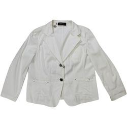 Abbigliamento Donna Giacche / Blazer Elena Miro' ATRMPN-27391 Bianco