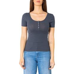 Abbigliamento Donna T-shirt maniche corte Pieces 17101439 Blu