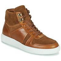 Scarpe Uomo Sneakers alte Pellet ODIN Marrone