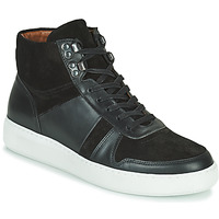 Scarpe Uomo Sneakers alte Pellet ODIN Nero