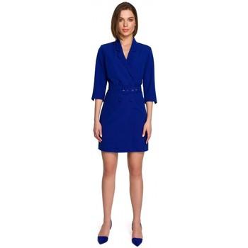 Abbigliamento Donna Abiti corti Style S255 Pantaloni con risvolto - nero