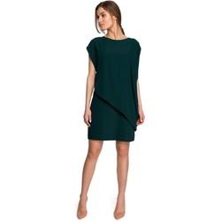 Abbigliamento Donna Abiti corti Style S262 Abito a strati - verde