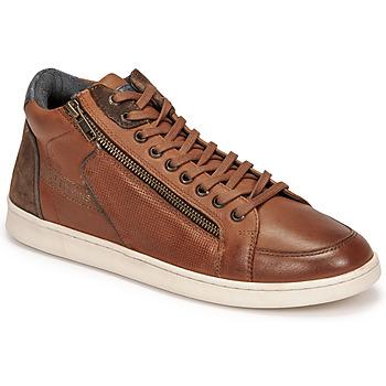 Scarpe Uomo Sneakers alte Redskins DYNAMIC Cognac