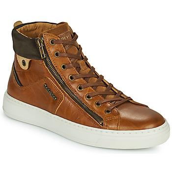 Scarpe Uomo Sneakers alte Redskins HOPESO Cognac