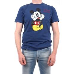 Abbigliamento Uomo T-shirt maniche corte Mc2 Saint Barth TSHM001-EMKD7D Manica Corta Uomo Blu navy Blu navy