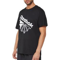 Abbigliamento Uomo T-shirt maniche corte Reebok Sport DT8215 Nero