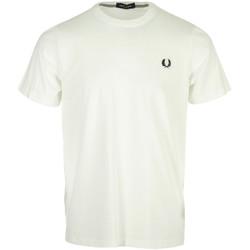 Abbigliamento Uomo T-shirt maniche corte Fred Perry Crew Neck T-Shirt Bianco