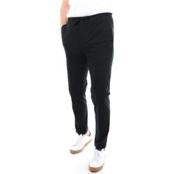 Abbigliamento Uomo Pantaloni da tuta Manuel Ritz 3032P2952-213139 Lunghi Uomo Nero Nero