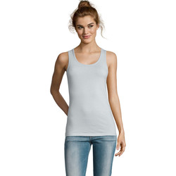 Abbigliamento Donna Top / T-shirt senza maniche Sols Jane - CAMISETA MUJER SIN MANGAS Azul
