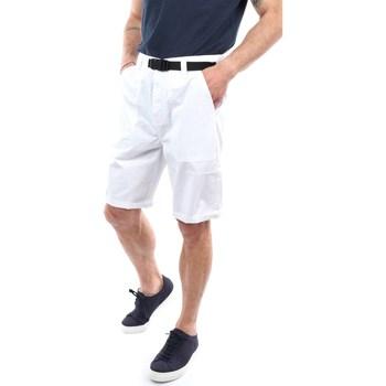 Abbigliamento Uomo Shorts / Bermuda Sun68 B31106 Bermuda Uomo Bianco Bianco