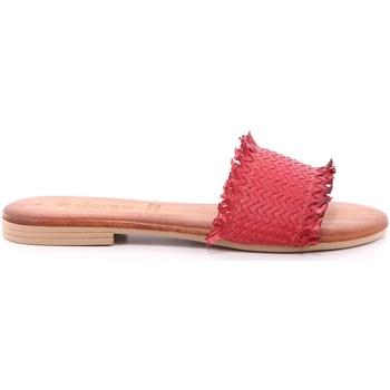 Scarpe Donna Ciabatte Dorea 14 - MH101 Rosso