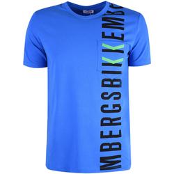 Abbigliamento Uomo T-shirt maniche corte Bikkembergs  Blu