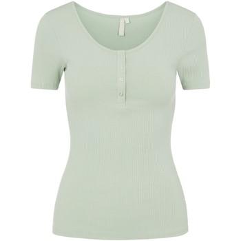 Abbigliamento Donna T-shirt maniche corte Pieces 17101439 Verde