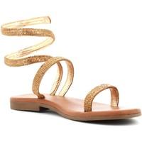 Scarpe Donna Sandali Mosaic donna sandali SERPENTINES ORO Pelle