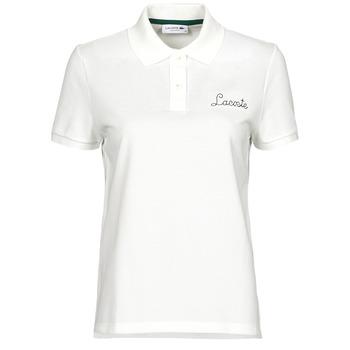 Abbigliamento Donna Polo maniche corte Lacoste PF7251 Bianco