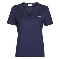 Abbigliamento Donna T-shirt maniche corte Lacoste LOUIS Marine