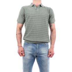 Abbigliamento Uomo Polo maniche corte Manuel Ritz 3032M505-213319 Manica Corta Uomo Verde salvia Verde salvia