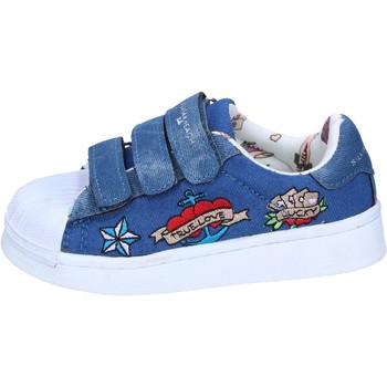Scarpe Bambina Sneakers basse Silvian Heach BH157 Blu