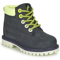 Scarpe Unisex bambino Stivaletti Timberland 6 In Premium WP Boot Nero