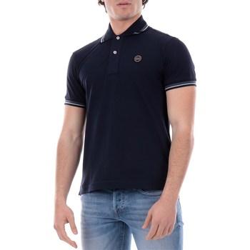 Abbigliamento Uomo Polo maniche corte Museum beupc06pt542 Blu