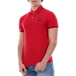 Abbigliamento Uomo Polo maniche corte Museum beupc06pt542 Rosso