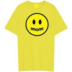 Abbigliamento Bambino T-shirt maniche corte Imomi T-SHIRT MC BOYS Giallo