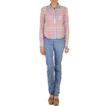 Jeans Gant DANA SPRAY COLORED DENIM PANTS Blu 350x350