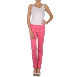 Abbigliamento Donna Pantaloni 5 tasche Gant DANA SPRAY COLORED DENIM PANTS Rosa