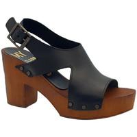 Scarpe Donna Sandali Kiara Shoes MY180 Nero