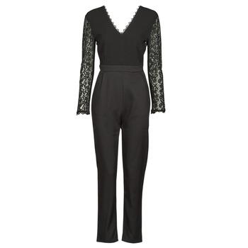 Abbigliamento Donna Tuta jumpsuit / Salopette Betty London PARILLO Nero