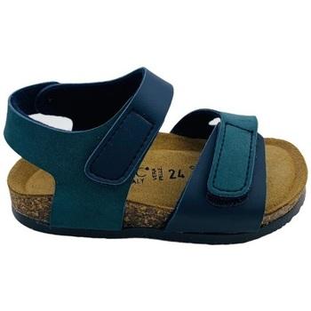 Scarpe Uomo Sandali Biochic 55453 Blu