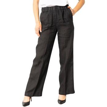 Abbigliamento Donna Pantaloni morbidi / Pantaloni alla zuava Sandro Ferrone S32XBACANDY Nero