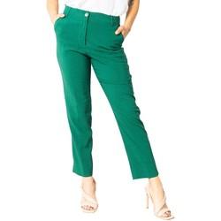 Abbigliamento Donna Chino Sandro Ferrone S15XBAALAN Verde