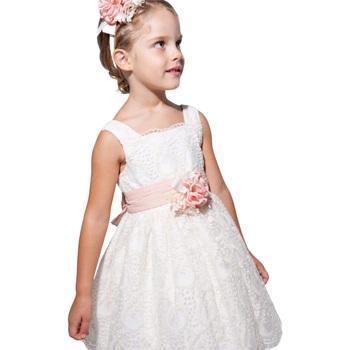 Abbigliamento Bambina Abiti corti Abel & Lula By Mayoral ATRMPN-27518 Bianco