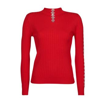 Abbigliamento Donna Maglioni Moony Mood PABJATO Rosso