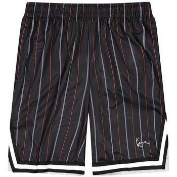 Abbigliamento Uomo Shorts / Bermuda Karl Kani Short  Small Signature Pinstripe Mesh noir/bleu/rouge