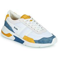 Scarpe Donna Sneakers basse Gola GOLA ECLIPSE Bianco / Blu / Giallo