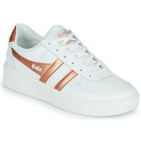 Scarpe Donna Sneakers basse Gola GOLA GRANDSLAM Bianco / Bronzo