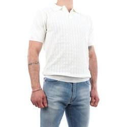 Abbigliamento Uomo Maglioni Manuel Ritz 3032M505-213319 Maniche Corte Uomo Bianco Bianco