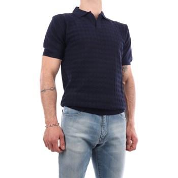 Abbigliamento Uomo Maglioni Manuel Ritz 3032M505-213319 Maniche Corte Uomo Blu Blu