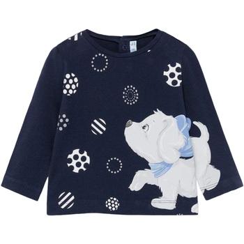 Abbigliamento Bambina T-shirts a maniche lunghe Mayoral ATRMPN-27531 Blu