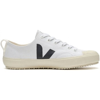 Scarpe Donna Sneakers basse Veja Nova Canvas White Black Bianco Bianco