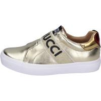 Scarpe Bambina Slip on Fiorucci BH179 Oro