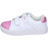 Scarpe Bambina Sneakers basse Solo Soprani BH180 Bianco