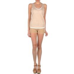 Abbigliamento Donna Shorts / Bermuda Majestic SOLENE Beige